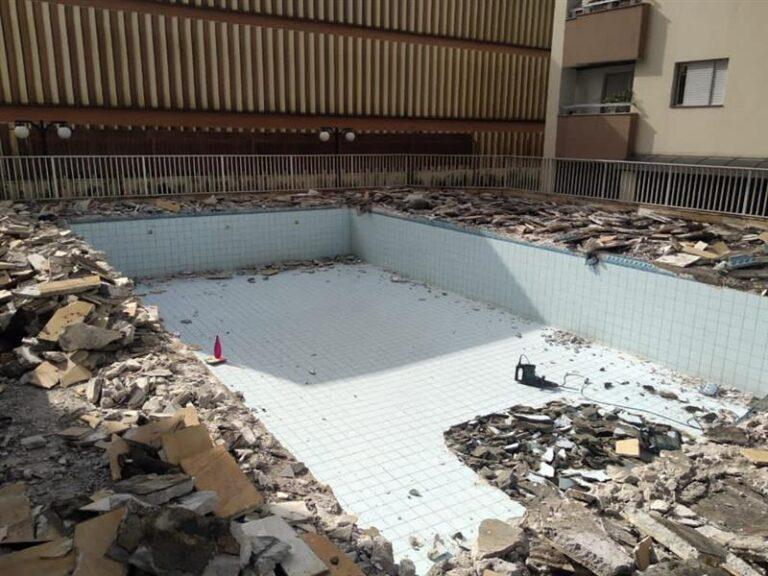 Demolição | Estantec Impermeabilizações